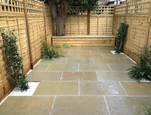 Long Narrow Garden with Side Return, Balham