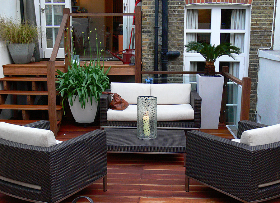 Small Town House Garden in Clapham
