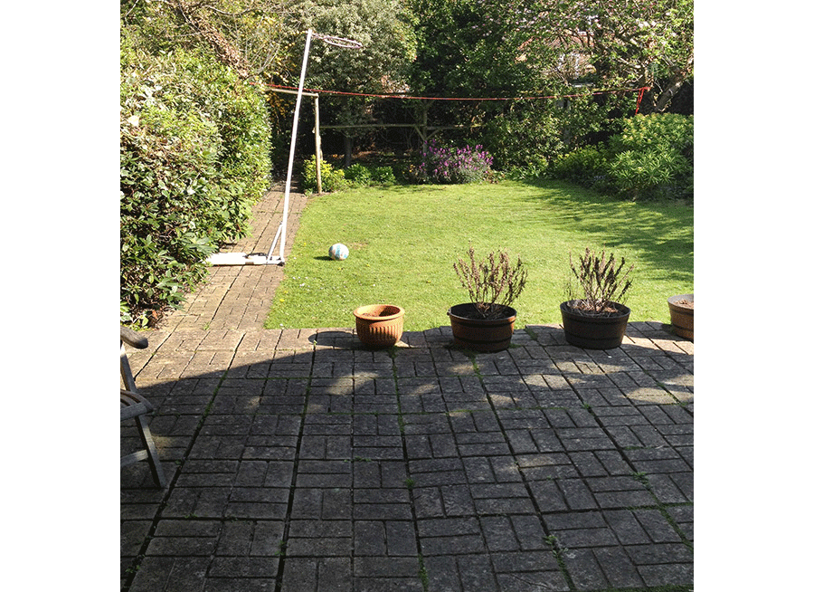 Large Lawned Garden, Streatham