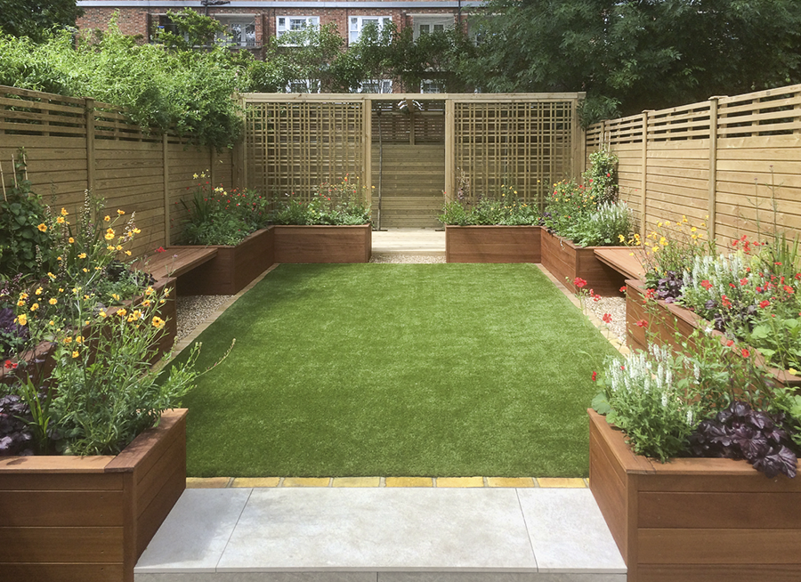 Medium Sized Garden Clapham South 1